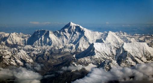 Le toit du monde, 8848 mètres.